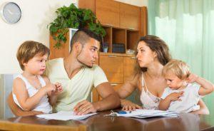 Separación sin dañar a los hijos